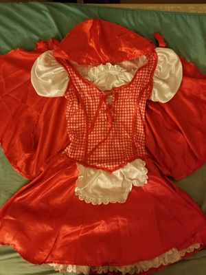 Girl's Medium Little Red Riding Hood Costume for Sale in Fontana, CA