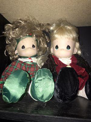 Pair of precious moments vinyl dolls for Sale in Monongahela, PA