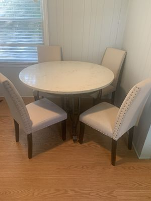 Custom Quartz Kitchen Table Set for Sale in Charlotte, NC