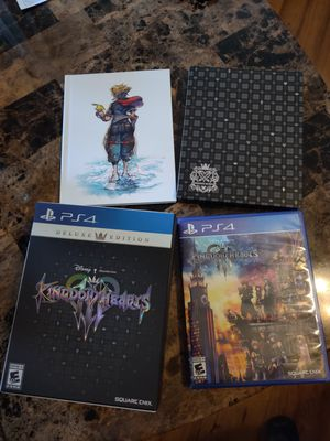 Kingdom Hearts 3 Deluxe Edition for Sale in Belle Isle, FL