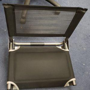 Black Bleacher / Stadium Seat $18 for Sale in Westminster, CA