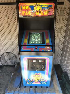 Ms PAC-MAN Arcade Machine Awesome Game Look for Sale for sale  Bound Brook, NJ