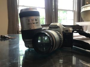 Pentax ZX-7 w/ 2 lenses for Sale in North Haven, CT