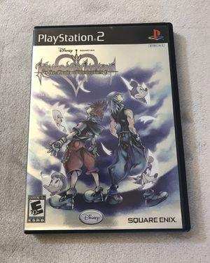 Kingdom Hearts Re: Chain of Memories (PS2) for Sale in Phoenix, AZ
