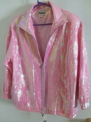 Shimmery pink jacket for Sale in Durham, NC