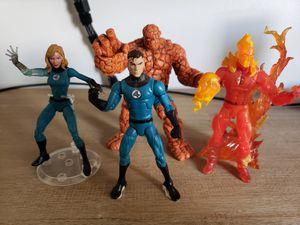 Action Figure - Fantastic Four - Marvel Legends - Exclusive Walmart Figures for Sale in Lawndale, CA
