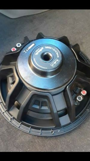 Speaker twelve inch Welcome trade for other car 🚗 audio for Sale in Lathrop, CA