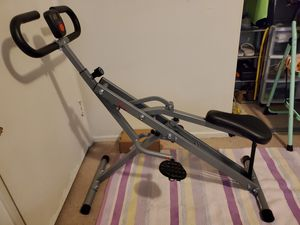 Sunny Health & Fitness Squat Assist Row-N-Ride Trainer for Squat Exercise and Glutes Workout for Sale in Glendale, CA