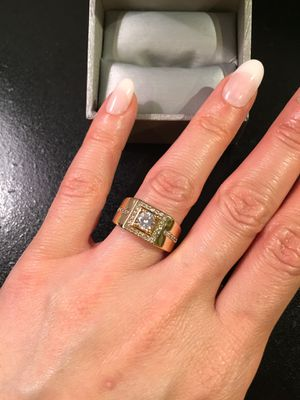 Unisex 🤵👰18K Gold plated Ring for Sale in Brooklyn, NY