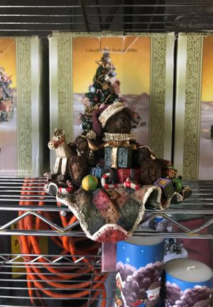 Collectible bear stocking holders for Sale in Orange Park, FL