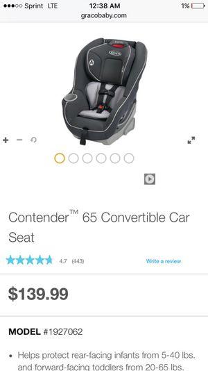 GRACO Car Seat 5lb-65lb (8positions, Reclines), 5lb-65 for Sale in Philadelphia, PA