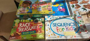 Board games! Race to the treasure - sequence for kids - operation Doc Mcstuffins for Sale in Bellevue, WA