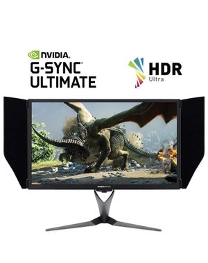 """Acer Predator X27 bmiphzx 27"""" 4K UHD. HDR (3840 x 2160) IPS Monitor with NVIDIA G-SYNC Ultimate 