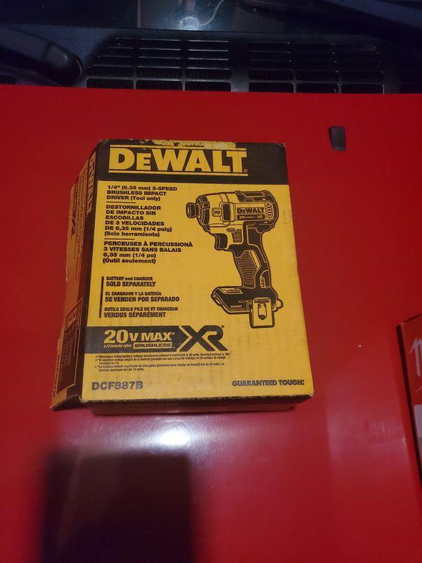 Dewalt 20v impact drill XR