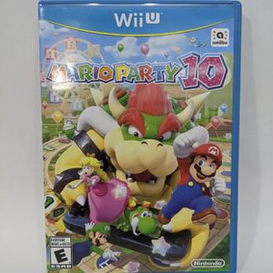 Mario Party 10 for Nintendo Wii U for Sale in San Diego, CA