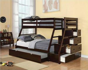 BUNK BED W/STORAGE DRAWERS NEW IN BOX for Sale in Pompano Beach, FL