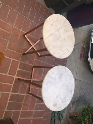 Marble End Table for Sale in Long Beach, CA
