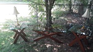 Cherry wood Coffee and End tables for Sale in Murfreesboro, TN