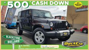 2012 Jeep Wrangler Unlimited for Sale in Fresno , CA