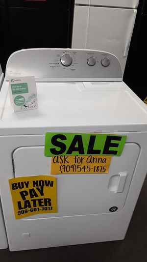🔴Classic Whirlpool dryer ⭐️APPLIANCES IN PAYMENTS⭐️ ❌NO CREDIT NEEDED🦋ASK FOR ANNA FOR DISCOUNT🦋 for Sale in San Bernardino, CA