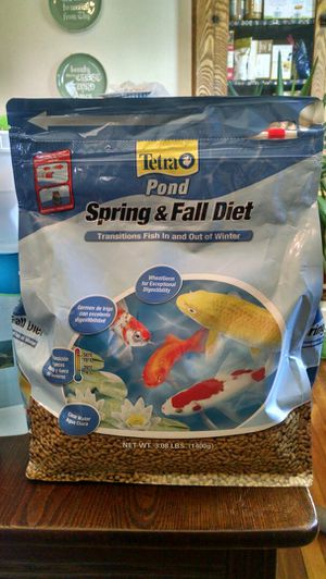 New in Package Tetra 3lbs Pond Fish Food for Sale in Merrill, WI