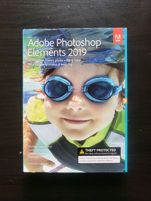 New adobe photoshop elements 2019 for Sale in Alameda, CA