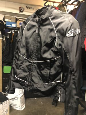 Women's motorcycle jacket mesh with elbow and shoulder pads for Sale in Artesia, CA