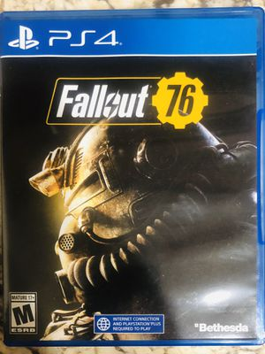 Fallout 76 PS4 ** BRAND NEW ** for Sale in Anaheim, CA