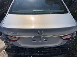 Hyundai Sonata parts used trunk lid for Sale in Boca Raton, FL