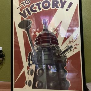 Dalek To Victory Poster for Sale in Dallas, TX