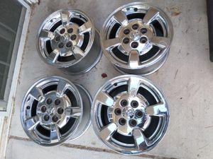 """4 Dodge Rims 16"""" In Chrome for Sale in Las Vegas, NV"""