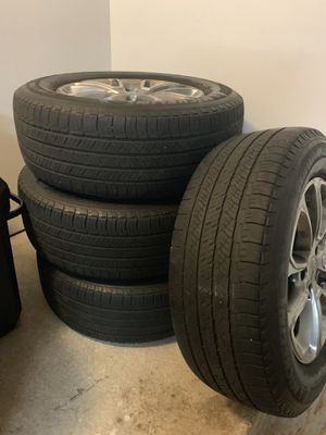2015 Jeep Grand Cherokee factory rims with tires for Sale in New York, NY
