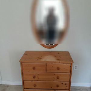 Chest Of Drawers With Maching Mirror for Sale in Fairfax, VA