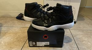 Jordan 11 72-10 Size 9 Worn Once PADS for Sale in San Diego, CA