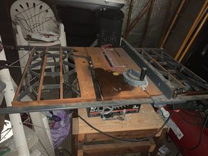 table saw for Sale in Aurora, IL