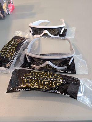 Star wars 3 d glasses for Sale in Rancho Cordova, CA