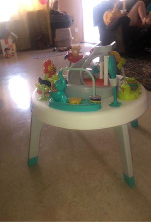 fisher price 2 -in -1 sit to stand activity center - Safari for Sale in Los Angeles, CA