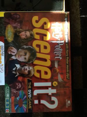 """USED: Harry Potter """"Scene it?"""" Game for Sale in Chippewa Falls, WI"""