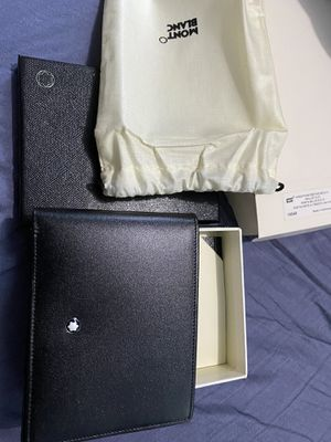 Montblanc 6 card Leather wallet for Sale in Redondo Beach, CA