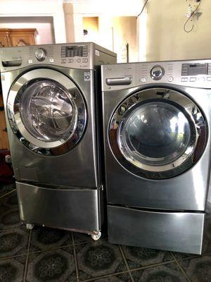 LG Washer and dryer still under warranty for Sale in Modesto, CA