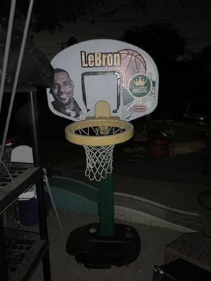 Lebron basketball hoop for Sale in Pasadena, CA