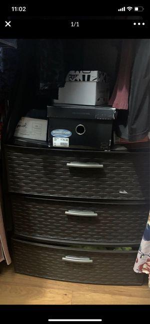 Plastic cabinet for Sale in Homestead, FL