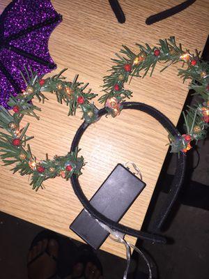 Christmas Disney ears light up for Sale in Buckeye, AZ