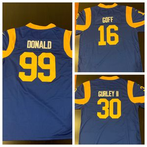 Rams Los Angeles NFL Football Jerseys Donald Gurley Goff for Sale in West Covina, CA