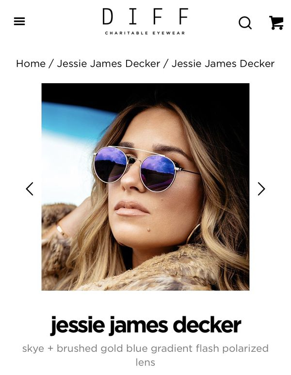 f64f2bebcda Diff Skye sunglasses by Jessie James Decker for Sale in San Diego ...