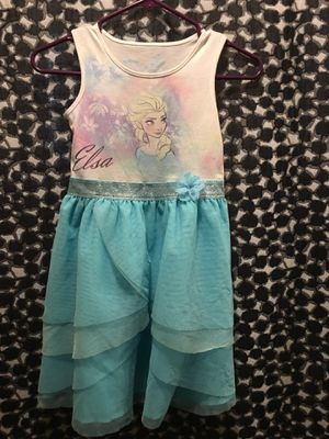 Elsa Disney dress size 7 for Sale in Fontana, CA
