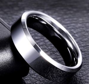 Stainless Steel Ring for Women For Men Simple Couple Titanium Steel (colors:gold, silver US Sizes 10 for Sale in Riverside, CA