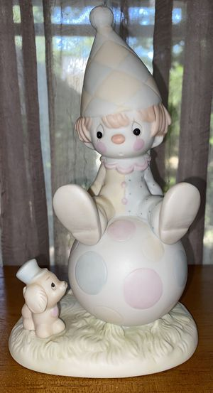 """Precious Moments Original 1986 """"Lord Keep Me on the Ball"""" Figurine (34 Years Old) for Sale in East Providence, RI"""