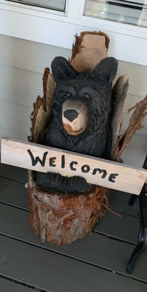 Bear carving for Sale in Tacoma, WA