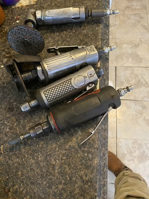 Pneumatic hand tools/ grinder/wrench/cutting tool for Sale in Odessa, TX